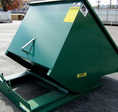 PADGETT SELF-DUMPING HOPPER